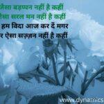 35+ Farewell Shayari In Hindi - 35 से भी ज्यादा विदाई शायरी हिंदी में