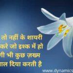 Two Line Shayari On Zindagi - जिंदगी पर दो लाइन शायरी हिंदी में !