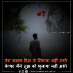 Tera Khyaal Dil Se Mitaaya Nahin Abhee- तेरा ख्याल दिल से मिटाया नहीं अभी(Bewafa Shayar)